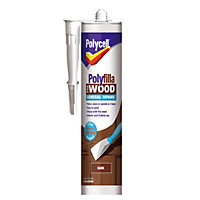 Polycell - Polyfilla For Wood - General Repairs - Dark - 480g