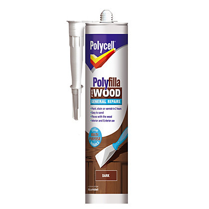 Image for Polycell - Polyfilla For Wood - General Repairs - Dark - 480g from StoreName