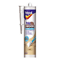 Polycell - Polyfilla For Wood - General Repairs - Light - 480g