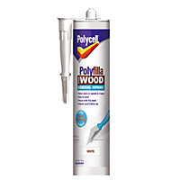 Polycell - Polyfilla For Wood - General Repairs - White - 480g