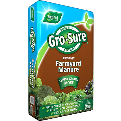 Image for Gro-Sure Farm Yard Manure - 50L from StoreName