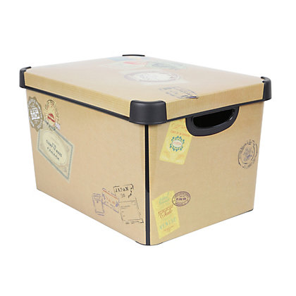 Image for Curver Around the World Deco Storage Box from StoreName