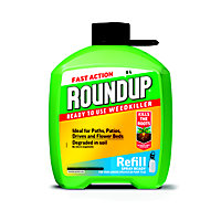 Roundup Fast Action Ready To Use Pump 'N Go Weedkiller Refill - 5L