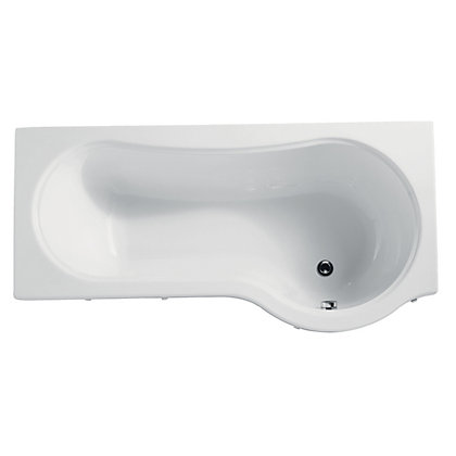 Image for Beresford Shower Bath - Right Hand - 1700mm from StoreName