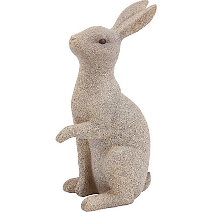Image for Stone Effect Rabbit - Large from StoreName
