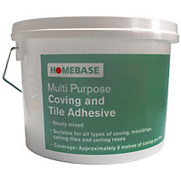 Homebase Multi Purpose Coving And Tile Adhesives - 2.5L