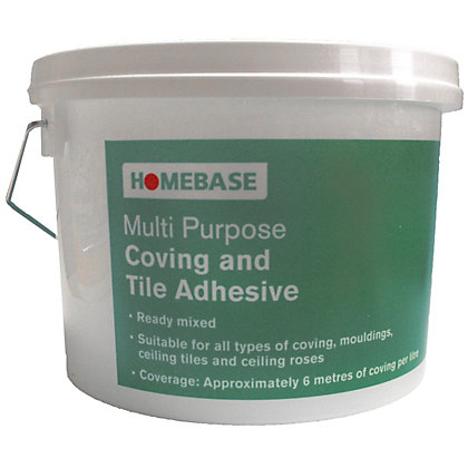 Image for Homebase Multi Purpose Coving And Tile Adhesives - 2.5L from StoreName