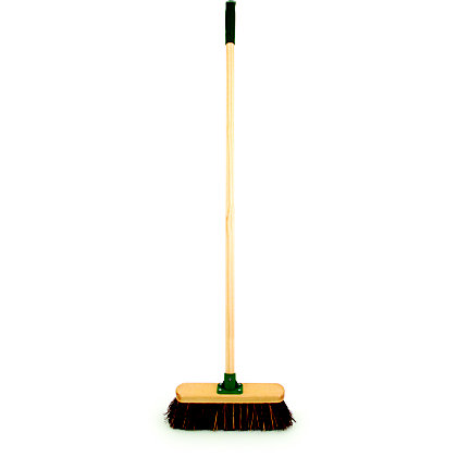 Image for Master Gardener Stiff Wooden Broom - 33cm from StoreName