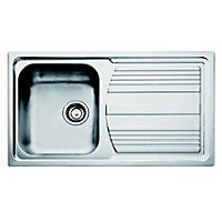 Carron Phoenix Logica Reversible Kitchen Sink - 1 Bowl