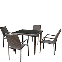 Bayfield 4 Seater Garden Furniture Set