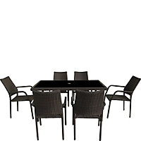 Bayfield 6 Seater Garden Furniture Set