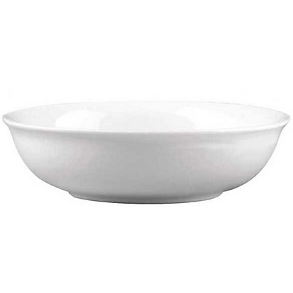 Image for Porcelain Small Shallow Bowl - White - 17cm from StoreName