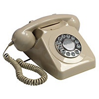 Ivory GPO 746 Push Button Retro Telephone