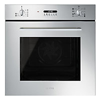 Smeg Cucina SF478X Built-in Multifunction Single Oven - 60cm - Stainless Steel
