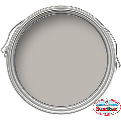 Image for Sandtex Plymouth Grey - Ultra Smooth Masonry Paint - 150ml from StoreName