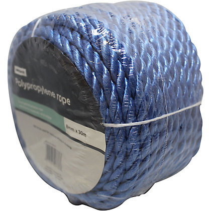 Image for Polypropylene Rope Blue Coil - 0.8 x 3000cm from StoreName