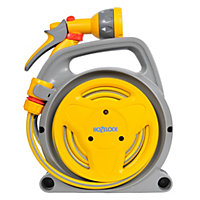 Hozelock Pico Yellow & Grey Garden Reel - 10m