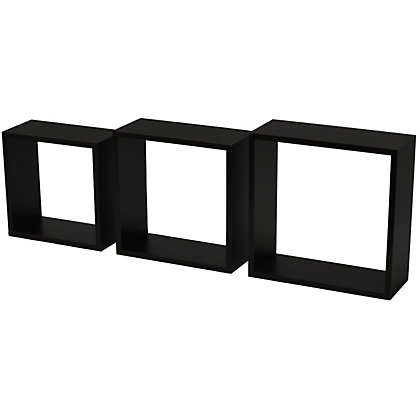 Image for Duraline Triple Cube Storage - Black from StoreName