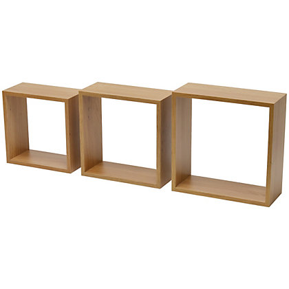 Image for Duraline Triple Cube Knotty - Oak Effect - 3 pieces from StoreName