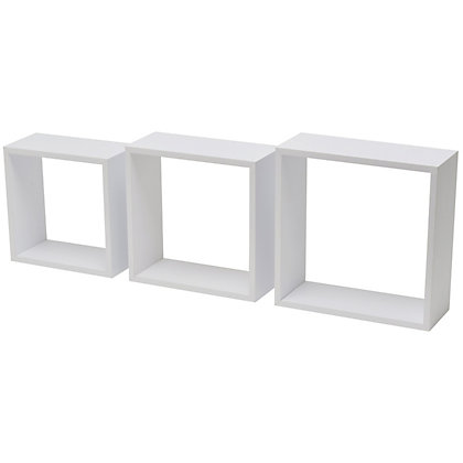 Duraline Triple Cube Storage White