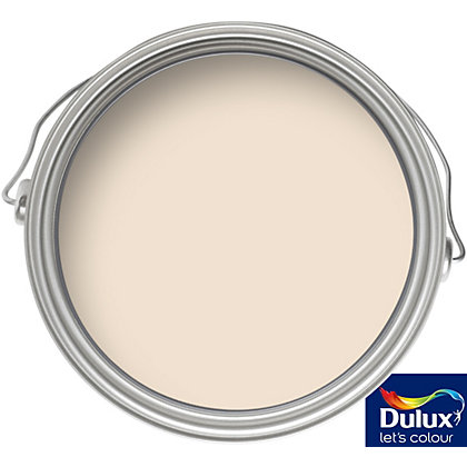 Image for Dulux Apricot White - Silk Emulsion Paint - 5L from StoreName