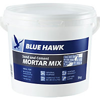 Blue Hawk Sand and Cement Mortar Mix Bucket - 5kg