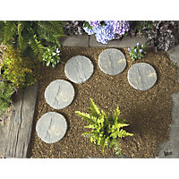 Real Paving Stepping Stone 300mm - Antique