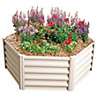 Absco Hexagonal Raised Garden Bed - Merino