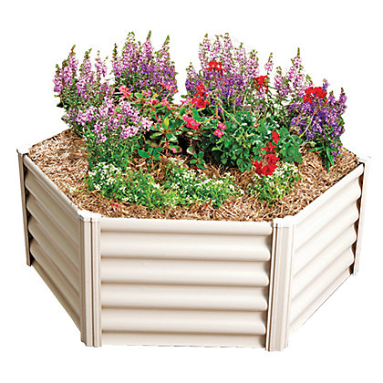 Image for Absco Hexagonal Raised Garden Bed - Merino from StoreName