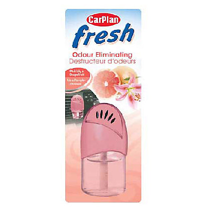 Image for Carplan Fresh Odour Eliminating Air Freshener - Pink Lily and Grapefruit from StoreName