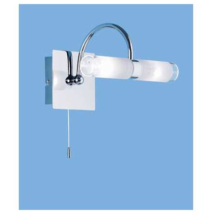 Homebase milan wall lights trweb for wall lights led bathroom bedroom lighting at homebase mozeypictures Image collections