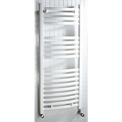 Image for Tuscana Heated Towel Rail - 1600 x 600mm - White from StoreName