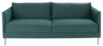 Habitat Hyde 3 Seat Sofa Fabric Teal Blue