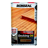 Ronseal Ultimate Protection Decking Oil Natural Oak  - 5L