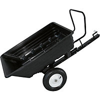 Handy 650lbs Body Towed Dump Cart.