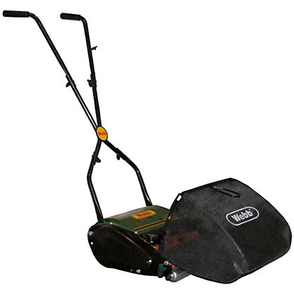 Image for Webb Hand Push Cylinder Lawn Mower - 30cm from StoreName