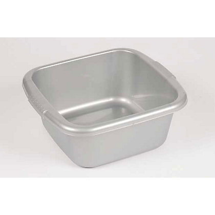 Image for Curver Square Washing Bowl - Silver from StoreName