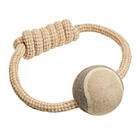 Ernest Charles Ball Rope Tug and Throw Dog Toy
