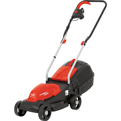 Image for Grizzly 1200W Electric Rotary Lawn Mower - 31cm from StoreName