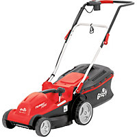 Grizzly 1400W Electric Rotary Lawn Mower - 35cm