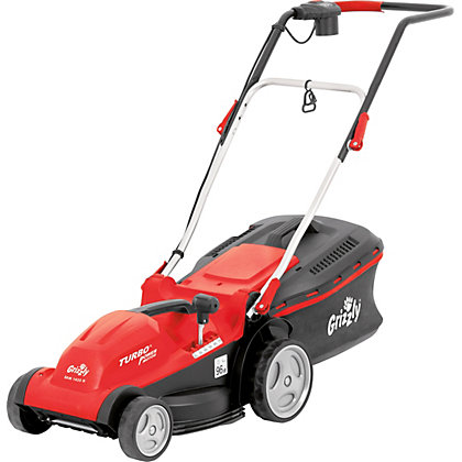 Image for Grizzly 1400W Electric Rotary Lawn Mower - 35cm from StoreName