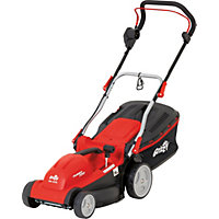 Grizzly 1600W Electric Rotary Lawn Mower - 37cm