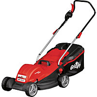 Grizzly 1800W Electric Rotary Lawn Mower - 44cm