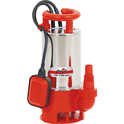 Image for Grizzly High Power Water Pump - 1100W from StoreName