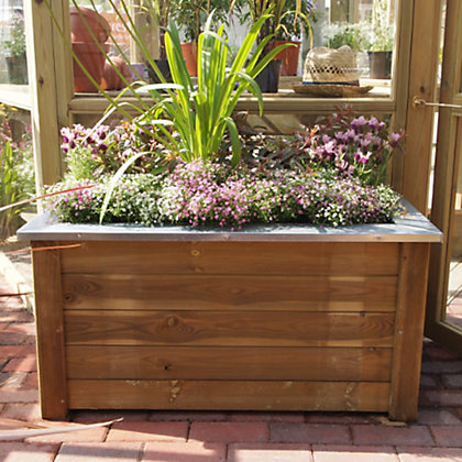 Image for Cambridge Wooden Garden Planter from StoreName