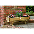 Mini Wooden Garden Trough - 1.2m