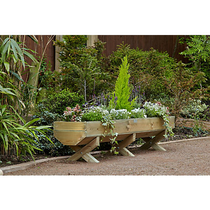 Image for Mini Wooden Garden Trough - 1.8m from StoreName