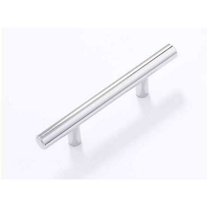 Image for T-Bar Cabinet Door Handle - Polished Chrome - 64mm from StoreName