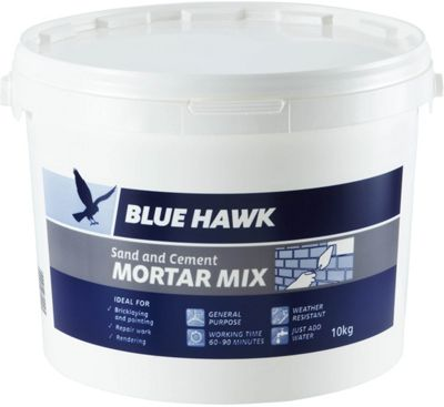 Homebase Blue Hawk Sand And Cement Mortar Mix Bucket 10kg Customer Review
