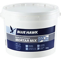 Blue Hawk Sand and Cement Mortar Mix Bucket - 10kg